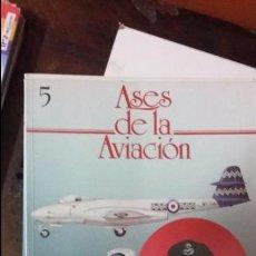 Militaria: ASES DE LA AVIACION. VOLUMEN 5. ED DELTA. Lote 52041290