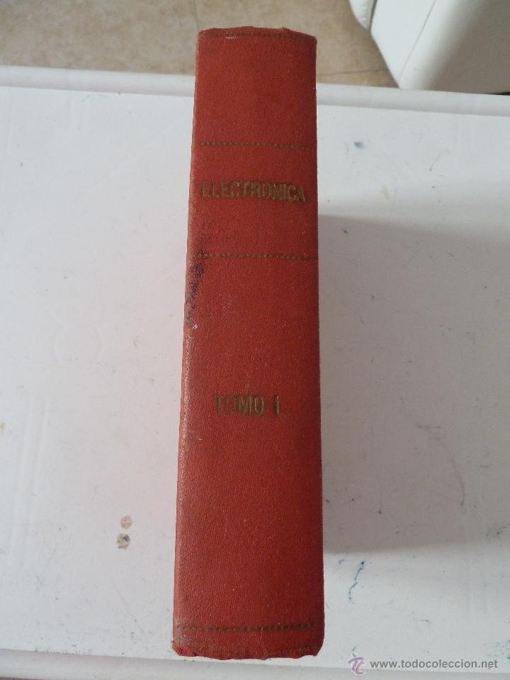Militaria: CURSO DE ELECTRONICA TOMO 1 ACADEMIA DE ARTILLERIA 1973 - Foto 2 - 52290832