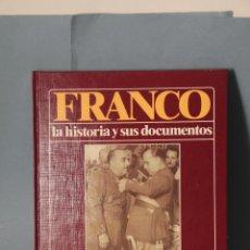 Militaria: TOMO Nº 4 FRANCO LA HISTORIA Y SUS DOCUMENTOS DE URBION.. Lote 52329644