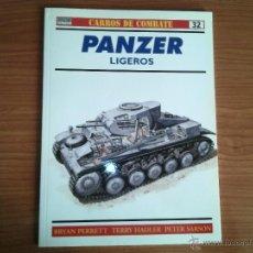 Militaria: OSPREY: CARROS DE COMBATE Nº 32: PANZER LIGEROS. Lote 52998061