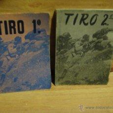 Militaria: TEORIA DEL TIRO - ACADEMIA GENERAL MILITAR - EDICION LIMITADA 850 EJEMPLARES - AÑO 1965. Lote 52432828