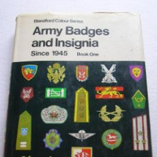 Militaria: ARMY BADGES AND INSIGNIA SINCE 1945.. Lote 52539951
