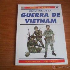 Militaria: OSPREY: CARROS DE COMBATE Nº 39: EJERCITOS DE LA GUERRA DE VIETNAM. Lote 54815712