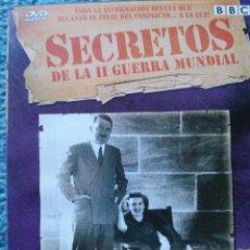 Militaria: SECRETOS DE LA SEGUNDA GUERRA MUNDIAL. LOS ULTIMOS DIAS DE ADOLF HITLER.. DVD.. Lote 52713105
