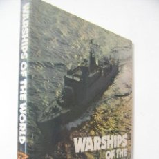 Militaria: WARSHIPS OF THE WORLD,PRESTON,1980,JANES ED,REF MILITAR BS8. Lote 112614406