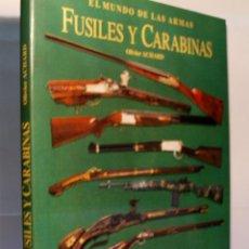Militaria: EL MUNDO DE LAS ARMAS FUSILES Y CARABINAS. ACHARD OLIVIER. 1996. Lote 53248768