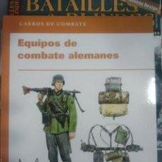 Militaria: EQUIPOS DE COMBATE ALEMANES. CARROS DE COMBATE. Lote 53254541