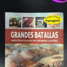 Militaria: GRANDES BATALLAS. CONFLICTOS DECISIVOS QUE HAN CONFORMADO LA HISTORIA. Lote 53449275