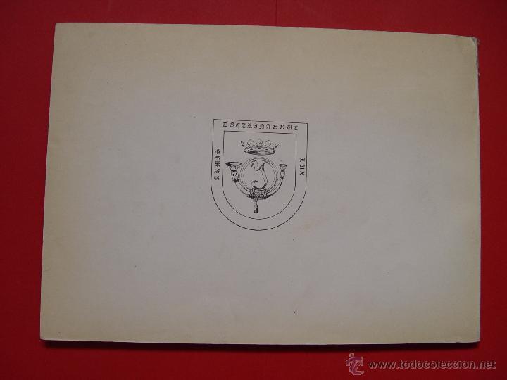 Militaria: Libro LÁMINAS DE ARMAMENTO (Academia Infantería, 1970-80's) Descatalogado ¡ORIGINAL! - Foto 2 - 53495129