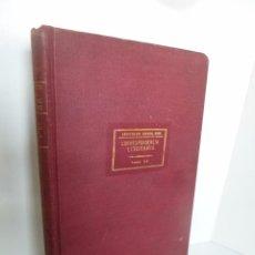 Militaria: ARCHIVO DEL GENERAL MITRE TOMO XX. CORRESPONDENCIA LITERARIA. AÑOS 1859-1881. 1912. Lote 53514993