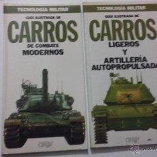 Militaria: CARROS DE COMBATE MODERNOS. GUIAS DE TECNOLOGIA MILITAR ORBIS.. Lote 53765164