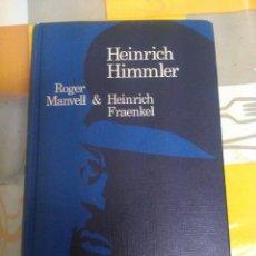 Militaria: HEINRICH HIMMLER INCREIBLE PEDAZO LIBRO TAPAS DURAS DE COLECCION + 300 PAGINAS DIFICIL D ENCONTRAR. Lote 53773989