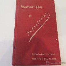 Militaria: REGLAMENTO TÁCTICO DE INFANTERÍA. AÑO 1914. Lote 53803712