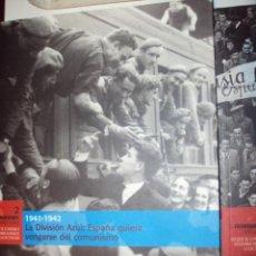 Militaria: EL FRANQUISMO AÑO A AÑO LOTE DE 8 LIBROS. Lote 53875150