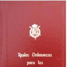 Militaria: REALES ORDENANZAS PARA LAS FUERZAS ARMADAS. Lote 54122596