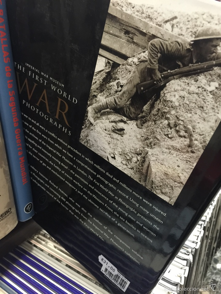 Militaria: The first world war in photographs. Imperial war museum - Foto 2 - 54160262