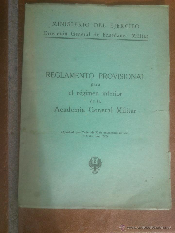 ACADEMIA GENERAL MILITAR (Militar - Libros y Literatura Militar)