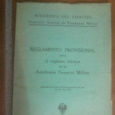 Militaria: ACADEMIA GENERAL MILITAR. Lote 54166505