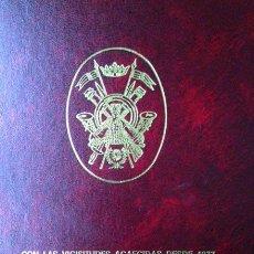 Militaria: ACADEMIA GENERAL MILITAR.LIBRO DE LA 1ª PROMOCIÓN / SUPLEMENTO AL LIBRO DE LA 1ª PROMOCIÓN. 1942-96.. Lote 54263688