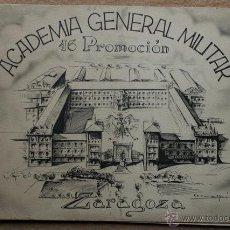 Militaria: ACADEMIA GENERAL MILITAR. XVI PROMOCIÓN. ZARAGOZA. BILBAO, HUECOGRABADO ARTE, S.A. (1948). Lote 54431878