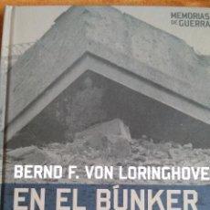 Militaria: EN EL BUNKER CON HITLER.. Lote 54608987