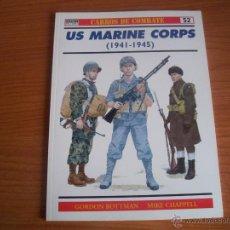 Militaria: OSPREY, CARROS DE COMBATE Nº 52 - US MARINE CORPS (1941-1945). Lote 54632101