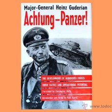 Militaria: LIBRO EN INGLÉS: ACHTUNG PANZER! DE HEINZ GUDERIAN. Lote 54644917