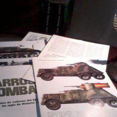 Militaria: LOTE DE 5 FASCICULOS SUELTO NO ESTAN CORRELACTIVO. CARRO DE COMBATE. EST9B3. Lote 54796030
