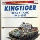 Militaria: LIBRO KINGTIGER HEAVY TANK 1942 - 1945.. Lote 55047661