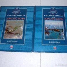 Militaria: LIBROS GRANDES EPOCAS DE LA AVIACION. Lote 55128634