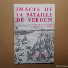 Militaria: IMÁGENES DE LA BATALLA DE VERDUN LIBRO MILITAR II GUERRA MUNDIAL . Lote 55788215