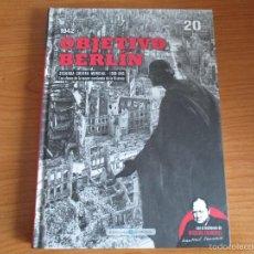 Militaria: BIBLIOTECA EL MUNDO: SEGUNDA GUERRA MUNDIAL Nº 20: OBJETIVO BERLIN. Lote 159514504