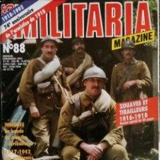 Militaria: MILITARIA MAGAZINE N ° 88. Lote 56047538