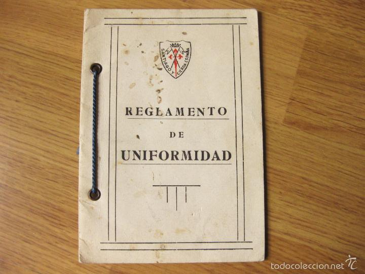 REGLAMENTO DE UNIFORMIDAD DEL REGIMIENTO DE CABALLERIA (Militar - Libros y Literatura Militar)