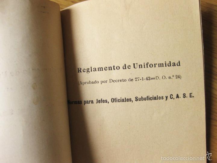 Militaria: REGLAMENTO DE UNIFORMIDAD DEL REGIMIENTO DE CABALLERIA - Foto 2 - 56171827