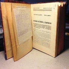 Militaria: MEMORIAL DE INFANTERÍA. (ARTÍCULOS DE ARMAS, TÁCTICA Y TIRO. 2ª REPÚBLICA). TOLEDO, 1931-35. MAUSER,. Lote 56228623