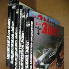 Der Adler Dokumentation completa 5 tomos sobre la Luftwaffe 2ª Guerra Mundial en alemán bélico ercom
