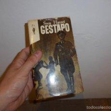 Militaria: ANTIGUO LIBRO GESTAPO, DE SVEN HASSEL. Lote 56526484