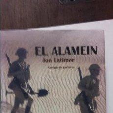 Militaria: JON LATIMER: EL ALAMEIN. Lote 56547577