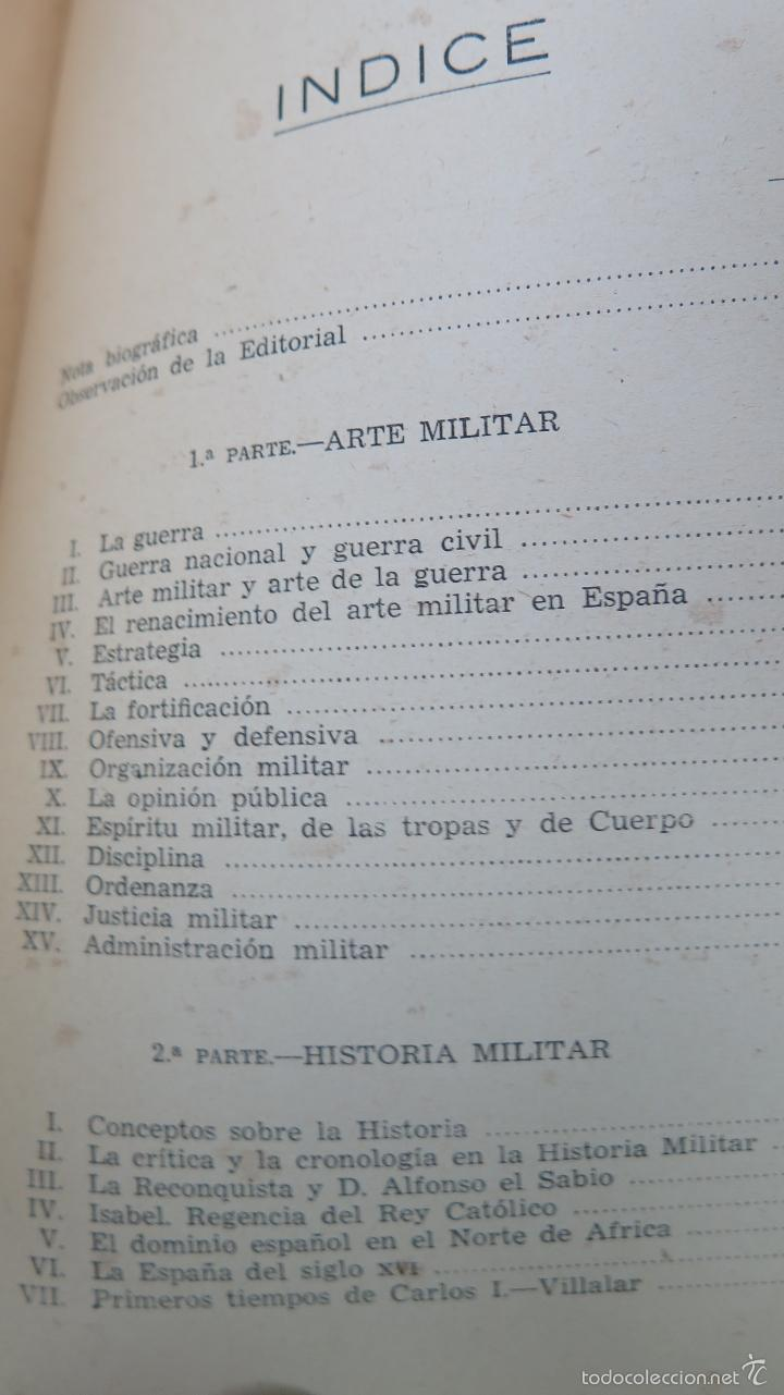Militaria: ESTUDIOS MILITARES. ANTOLOGÍA. JOSÉ ALMIRANTE TORROELLA - Foto 3 - 56732596