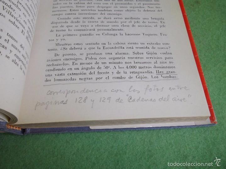 Militaria: DIFICIL LOTE LIBRO PILOTO CAZA ROJO STUKA RAF NO HA REGRESADO COMBATE GUERRA CIVIL WWII BUSCADO - Foto 6 - 56908937