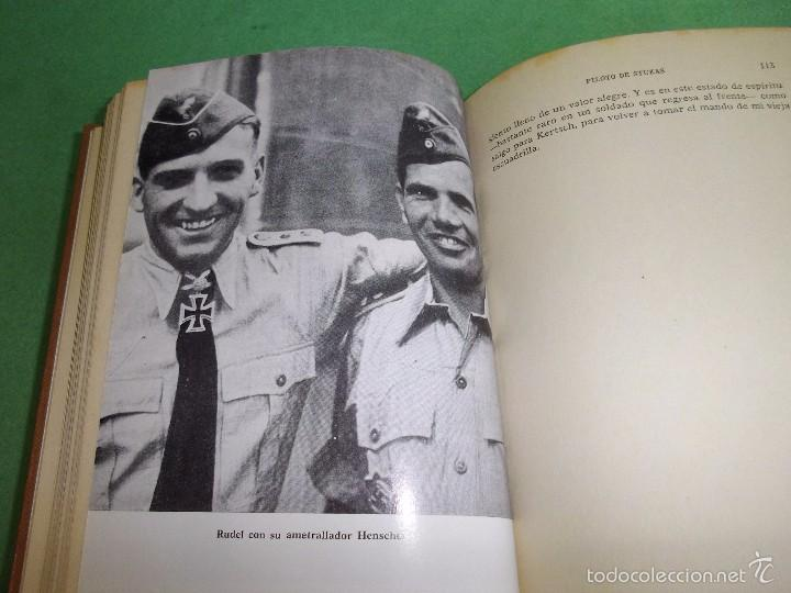Militaria: DIFICIL LOTE LIBRO PILOTO CAZA ROJO STUKA RAF NO HA REGRESADO COMBATE GUERRA CIVIL WWII BUSCADO - Foto 14 - 56908937