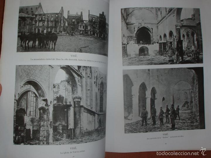 Militaria: SIGUIENDO LAS HUELLAS DEL EJÉRCITO ALEMAN. LONDON, 1915. ILUSTRADO CON 58 FOTOGRAFIAS ESPECIALES. - Foto 5 - 56944185