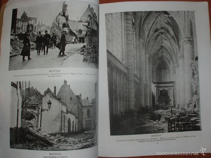 Militaria: SIGUIENDO LAS HUELLAS DEL EJÉRCITO ALEMAN. LONDON, 1915. ILUSTRADO CON 58 FOTOGRAFIAS ESPECIALES. - Foto 6 - 56944185