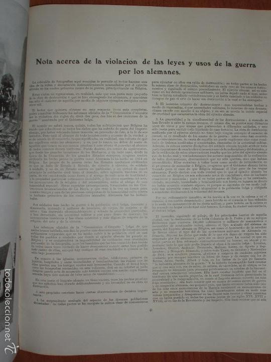 Militaria: SIGUIENDO LAS HUELLAS DEL EJÉRCITO ALEMAN. LONDON, 1915. ILUSTRADO CON 58 FOTOGRAFIAS ESPECIALES. - Foto 8 - 56944185
