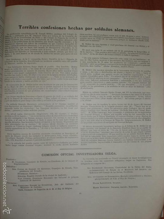 Militaria: SIGUIENDO LAS HUELLAS DEL EJÉRCITO ALEMAN. LONDON, 1915. ILUSTRADO CON 58 FOTOGRAFIAS ESPECIALES. - Foto 9 - 56944185