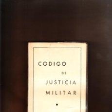 Militaria: CÓDIGO DE JUSTICIA MILITAR 1970. Lote 57084787