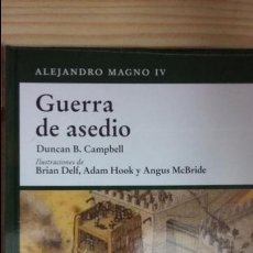 Militaria: GUERRA DE ASEDIO, ALEJANDRO MAGNO. OSPREY GRECIA Y ROMA. Lote 64466585