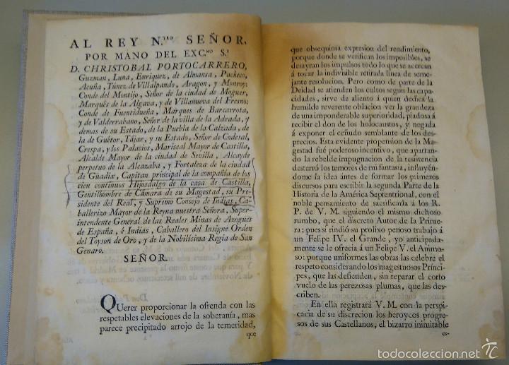 Militaria: LIBRO,HISTORIA DE LA CONQUISTA DE MEXICO,SIGLO XVIII, AÑO 1786,TEMA CONQUISTADORES HERNAN CORTES - Foto 10 - 57236122