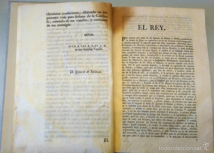 Militaria: LIBRO,HISTORIA DE LA CONQUISTA DE MEXICO,SIGLO XVIII, AÑO 1786,TEMA CONQUISTADORES HERNAN CORTES - Foto 16 - 57236122